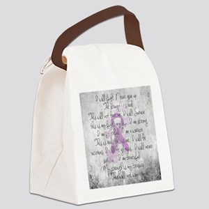 The Fight Canvas Lunch Bag