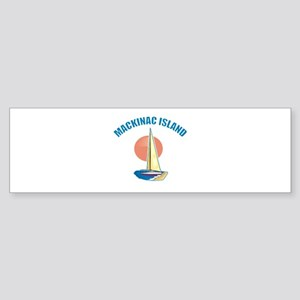 Mackinac Island Bumper Sticker