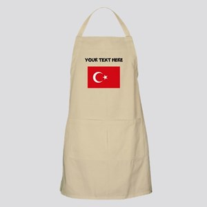 Custom Turkey Flag Apron