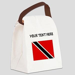 Custom Trinidad and Tobago Flag Canvas Lunch Bag