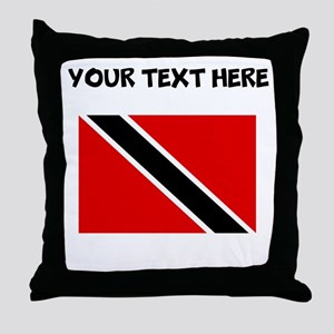Custom Trinidad and Tobago Flag Throw Pillow