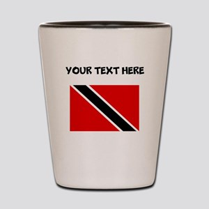 Custom Trinidad and Tobago Flag Shot Glass