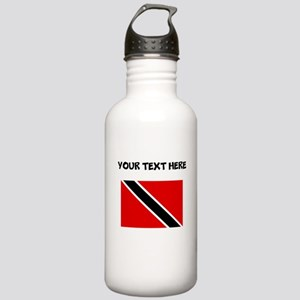 Custom Trinidad and Tobago Flag Water Bottle