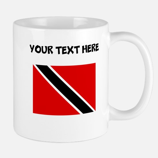 Custom Trinidad and Tobago Flag Mugs