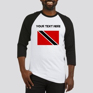Custom Trinidad and Tobago Flag Baseball Jersey