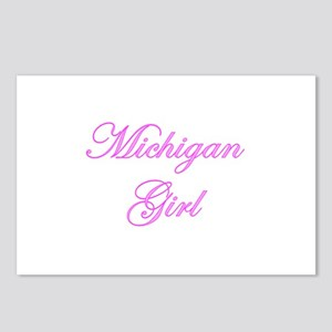 Michigan Girl Postcards (Package of 8)
