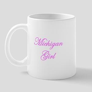 Michigan Girl Mug