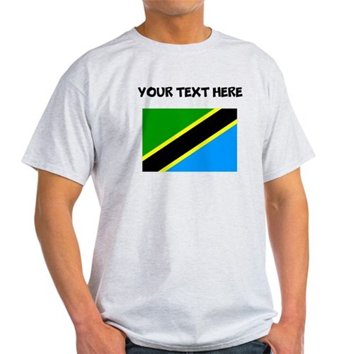 Custom Tanzania Flag T-Shirt