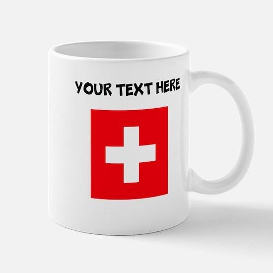 Custom Switzerland Flag Mugs