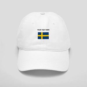 Custom Sweden Flag Baseball Cap