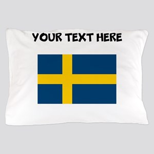 Custom Sweden Flag Pillow Case