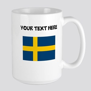 Custom Sweden Flag Mugs