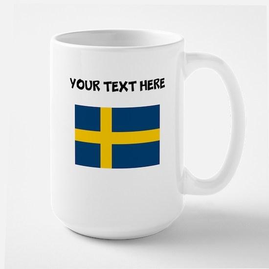 Custom Sweden Flag Mugs
