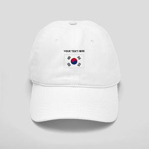 Custom South Korea Flag Baseball Cap