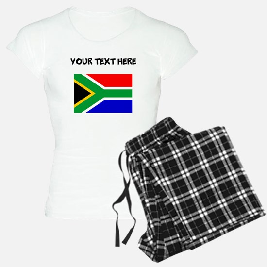 Custom South Africa Flag Pajamas