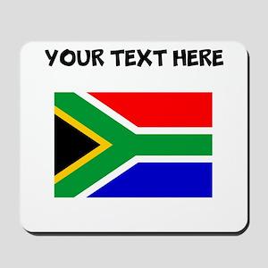 Custom South Africa Flag Mousepad