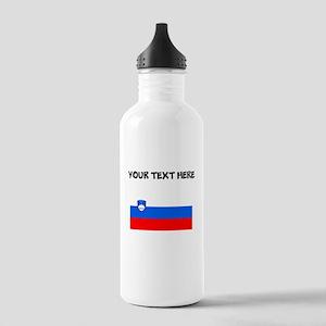 Custom Slovenia Flag Water Bottle