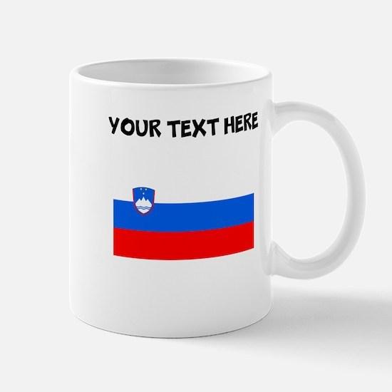 Custom Slovenia Flag Mugs