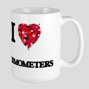 I love Thermometers Mugs