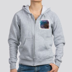 I am beautiful Zip Hoodie