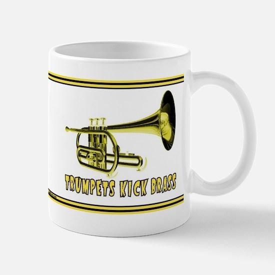 Trumpets Kick Brass Mug