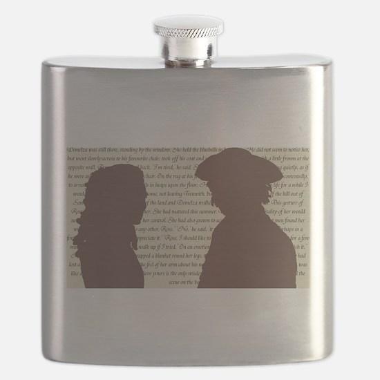 The Poldarks Flask