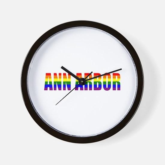 Ann Arbor Wall Clock
