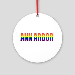Ann Arbor Ornament (Round)