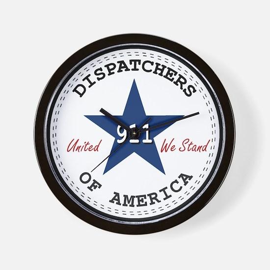 Dispatchers Of America Wall Clock