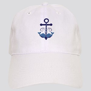 Blue Anchor and Whales Cap