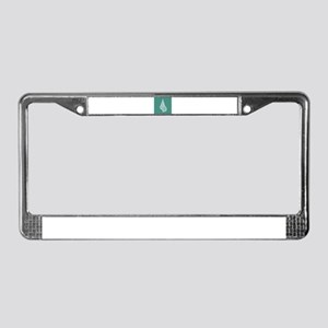 Turquoise Conch shell License Plate Frame