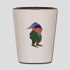 gnome dwarf Shot Glass