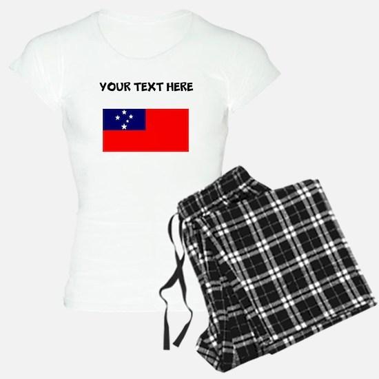 Custom Samoa Flag Pajamas