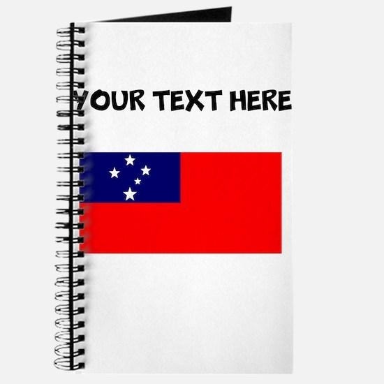 Custom Samoa Flag Journal