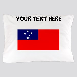 Custom Samoa Flag Pillow Case