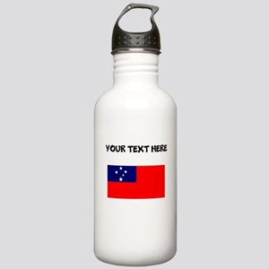 Custom Samoa Flag Water Bottle