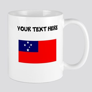 Custom Samoa Flag Mugs