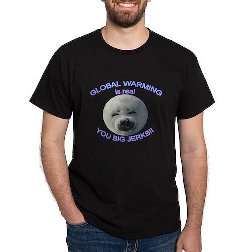 Global Warming Seal T-Shirt
