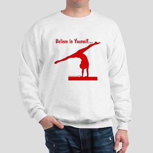 Gymnastics Sweatshirt - Believe