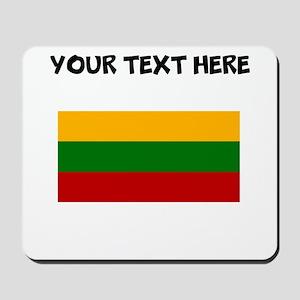 Custom Lithuania Flag Mousepad