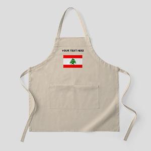 Custom Lebanon Flag Apron