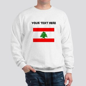Custom Lebanon Flag Sweatshirt