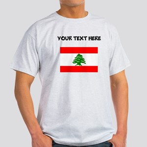 Custom Lebanon Flag T-Shirt