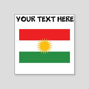 Custom Kurdistan Flag Sticker