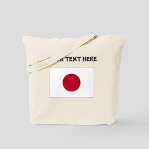 Custom Japan Flag Tote Bag