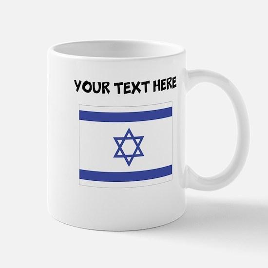 Custom Israel Flag Mugs