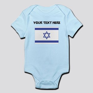 Custom Israel Flag Body Suit