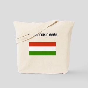 Custom Hungary Flag Tote Bag