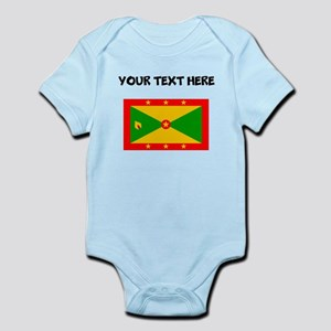 Custom Grenada Flag Body Suit