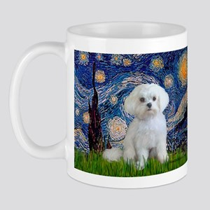 Starry Night / Maltese (R) Mug